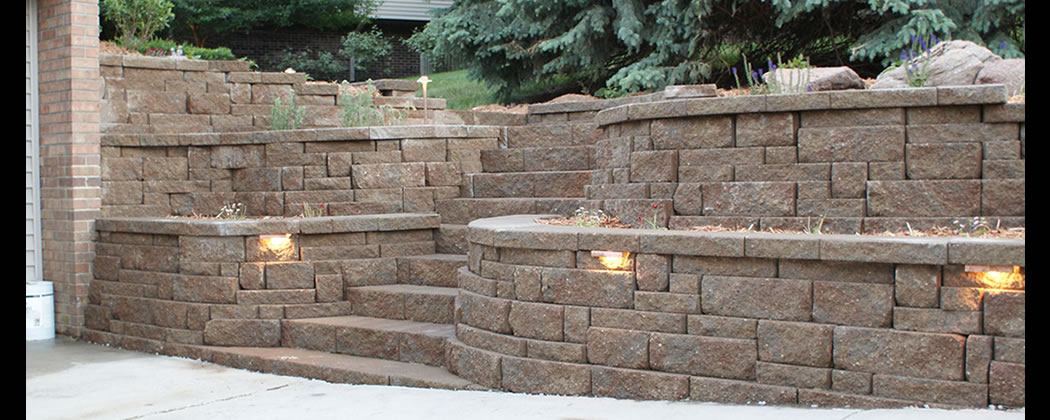 Retaining Wall Construction Eugene OR Landscape Contractor